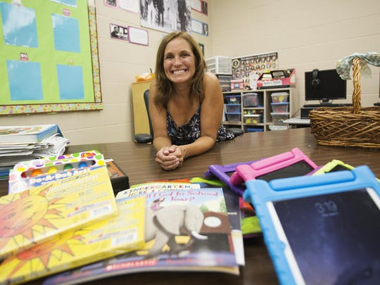 Marylin Prysi, a kindergarten teacher at Tanglewood Elementary School in Fort Myers has acquired supplies for her students through donorschoose.org. Teachers locally and nationally are using a crowdfunding site created just for them to raise money for items they needs for students. Teachers are requesting donations for everything from drones to tablets.