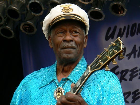 Chuck Berry at the Union County MusicFest on Sept.