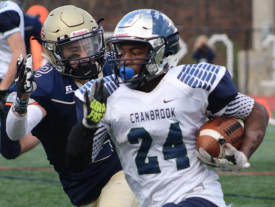 Speedy junior running back Aaron Wiggins (24) hopes