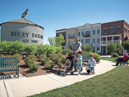 Berry Farms is a mixed-use development with homes,