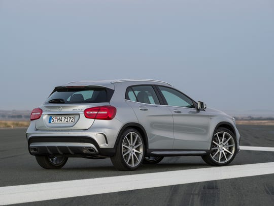 Prices for the 2015 Mercedes-Benz GLA 45 AMG start at $48,000. Our test car came to $63,775.