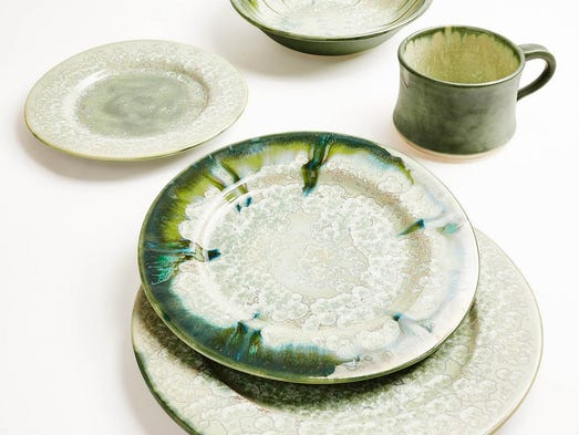 Oyster Dinnerware Collection - ABC Carpet & Home Starting