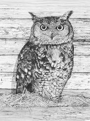 Owl Study Three_med