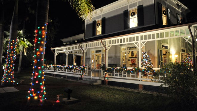 The 40th annual Holiday Nights at the Edison & Ford Winter Estates runs through Jan. 3.
