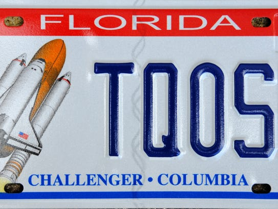 space shuttle license plate - photo #30