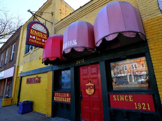 Emil's Italian restaurant closed on East Michigan Avenue