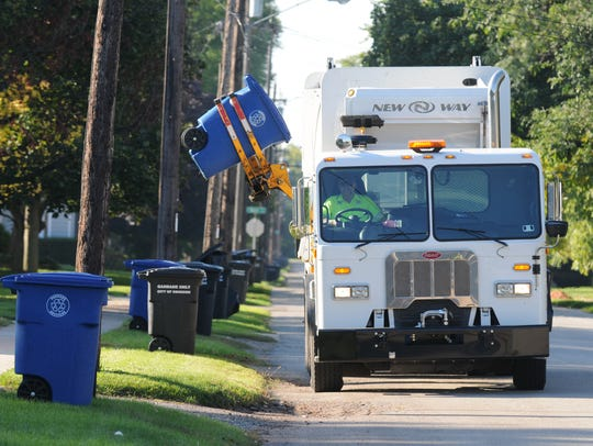 Neenah plans to buy and operate its own fleet of automated refuse and recycling trucks, rather than contract for the service.
