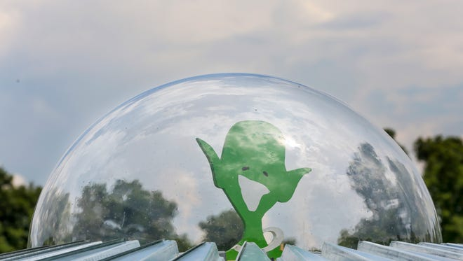 The 'Little Green Men Festival' just north of Hopkinsville in Kelly, Kentucky will have major news outlets from across the world covering their event this year.