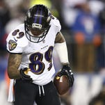Baltimore Ravens wide receiver Steve Smith will host a youth football camp at Eglin Air Force Base next week.