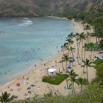 Hunama Bay in Hawaii
