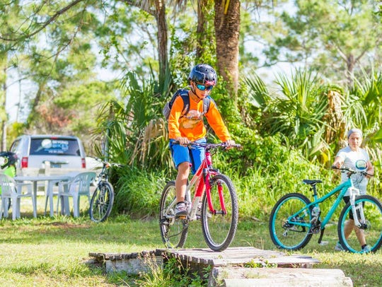 Club Scrub's Take a Kid Mountain Biking Day is this weekend at Jonathan Dickinson State Park in Hobe Sound.