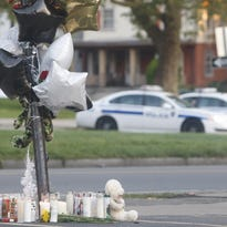 Memorials were erected for victims of the drive-by shooting outside the Boys & Girls Club of Rochester on Genesee Street on Aug. 19. The ripple effects of violence are felt by youths and adults.