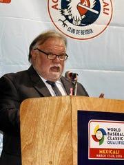 Dio Alberto Murillo, presidente del Club Águilas de