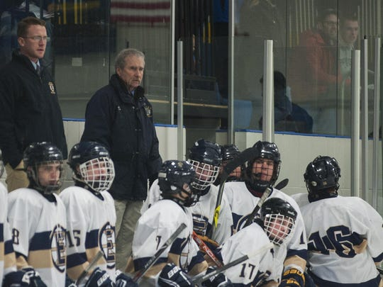Coach Bill O'Neil and the Essex High School boys hockey team won a final for the ages in March.
