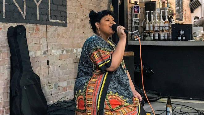 """KO performs during the March 5, 2018, episode of """"Dogfish Head Brewery presents IndyStar Sessions at Square Cat Vinyl."""""""