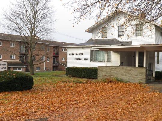 Allen-Manzer Funeral Home in Spencer, New York