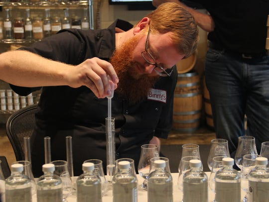 A recent class of the new My Craft Distillery program from Moonshine University at the Distilled Spirits Epicenter.