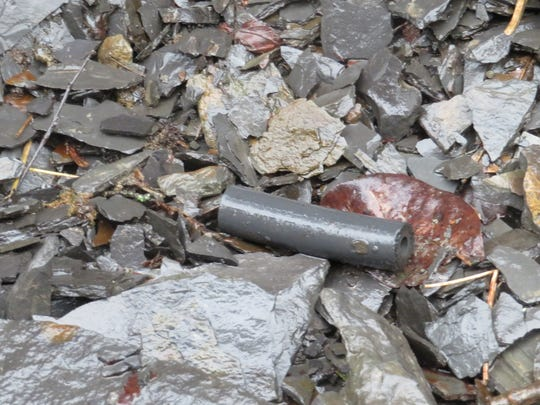 Debris can be found in an area close to the bottom