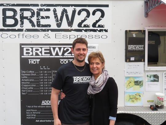 Riley Laser started Brew 22 Coffee & Espresso when