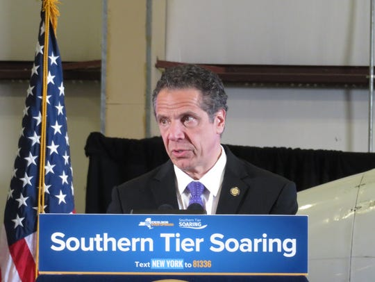 Gov. Andrew Cuomo visited the Ithaca Tompkins Regional