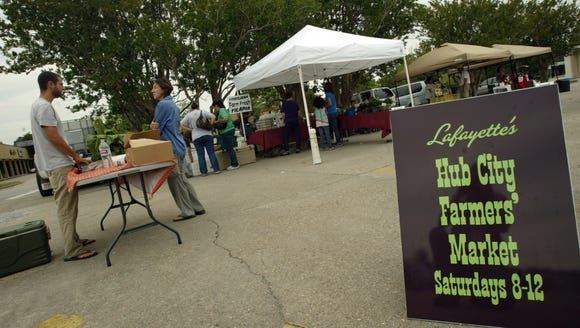 The Hub City Farmers Market is held from 8 a.m. to