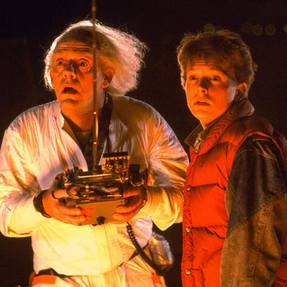 Christopher Lloyd, with Michael J. Fox, starred as