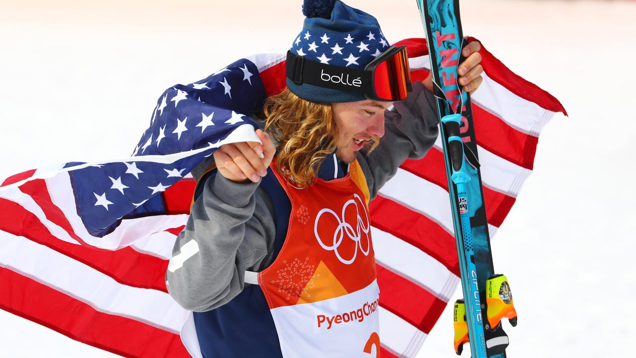 What's one of the first things David Wise will do after winning a gold medal in the men's halfpipe? Donate his hair to charity.