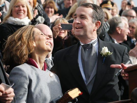 Ralph Northam, Pam Northam