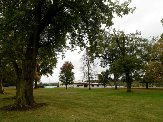 The county-owned lawn of the former Children's Home, at 771 E. Main St., is where the gazebo will be moved.