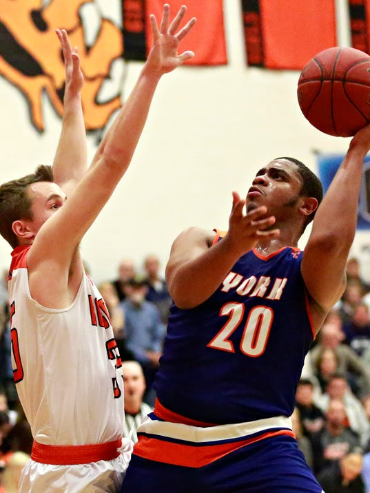 York High vs Northeastern boys' basketball