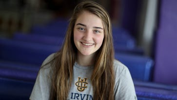 Sophie Wood named Record Searchlight Volleyball MVP