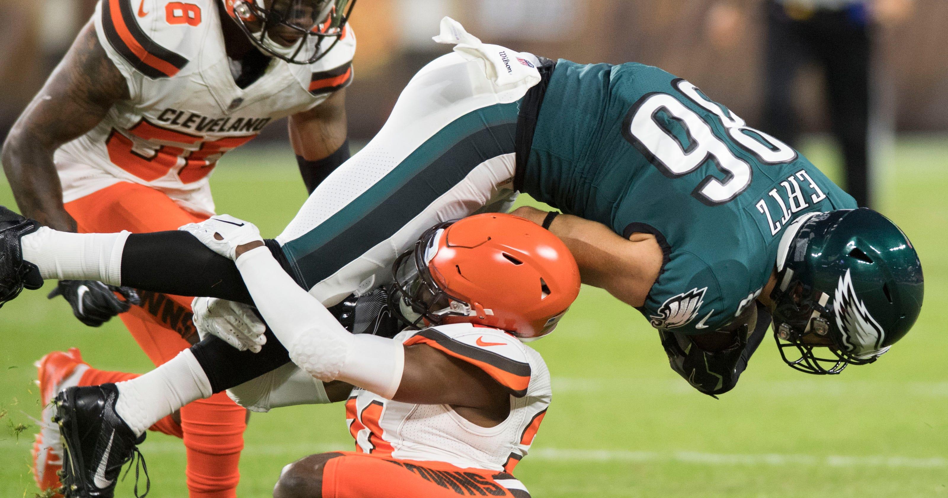 Usp Nfl Philadelphia Eagles At Cleveland Browns Width Height Fit Crop Denzel Ward Lets Gregg