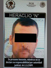 The Mexican Attorney General's Office released this