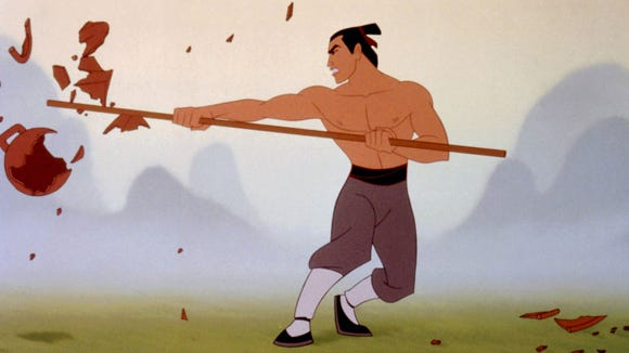 Why does Mulan need a different love interest than this guy?