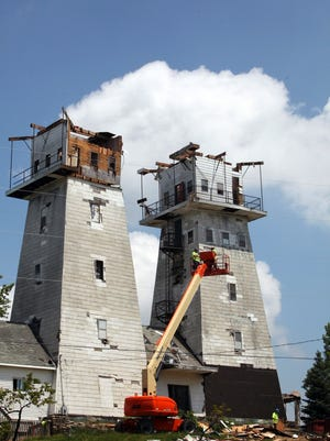 Once a magnet for tourists, the Irish Hills Towers have been closed for 15 years and fallen into disrepair. A Howell man is now helping lead restoration efforts.