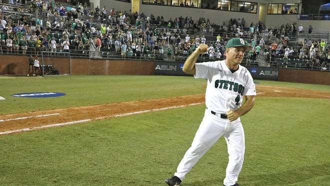Stetson coach Steve Trimper won't be going anywhere, any time soon.