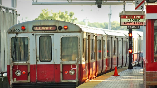 File photo of the red line.