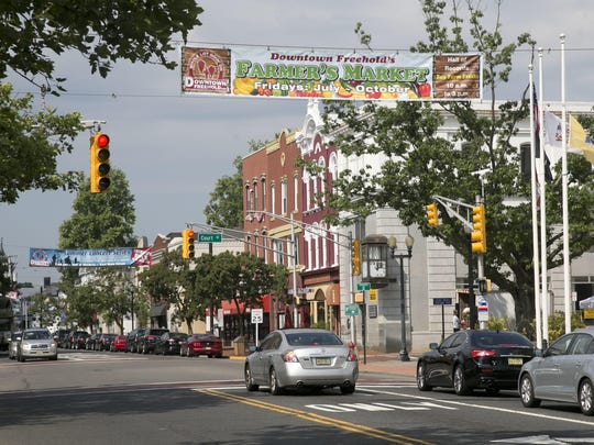 A look at downtown Freehold. FILE PHOTO