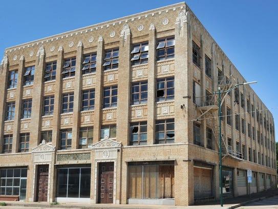 1100 Lamar Street downtown Wichita Falls