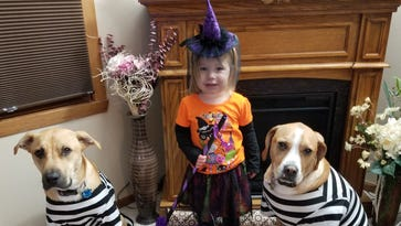 Readers share their kids' Halloween costumes