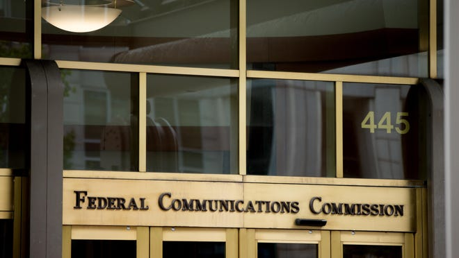 This file photo, shows the Federal Communications Commission building in Washington. Cellphone and broadband providers are excluding some video from data caps, meaning consumers have more data available for other apps and services. But the net neutrality rules from the Federal Communications Commission don't ban these practices, saying it could benefit consumers in some cases.