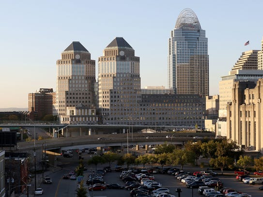 Procter & Gamble is based in downtown Cincinnati. P&G
