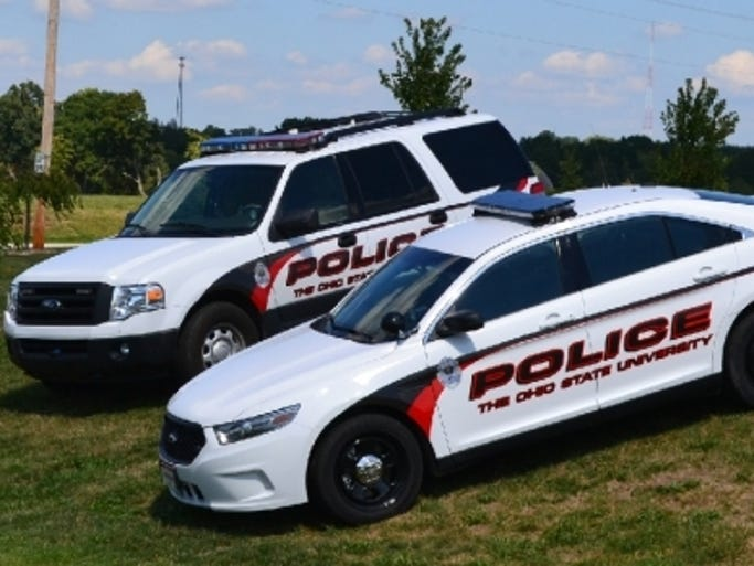 Campus police for Ohio State have handsome vehicles