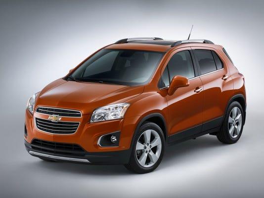 City Smart 2015 Chevrolet Trax Crossover