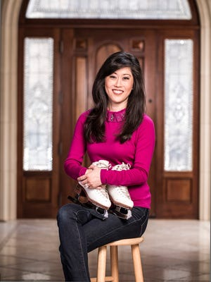 1992 Olympic gold medalist Kristi Yamaguchi at her home in Alamo, Calif.