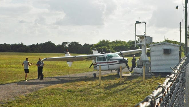 The twin-engined Cessna Skymaster was damaged in the incident on May 27.