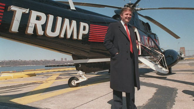 Donald Trump in New York in 1988.