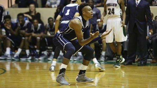 Jackson State guard and leading scorer Paris Collins