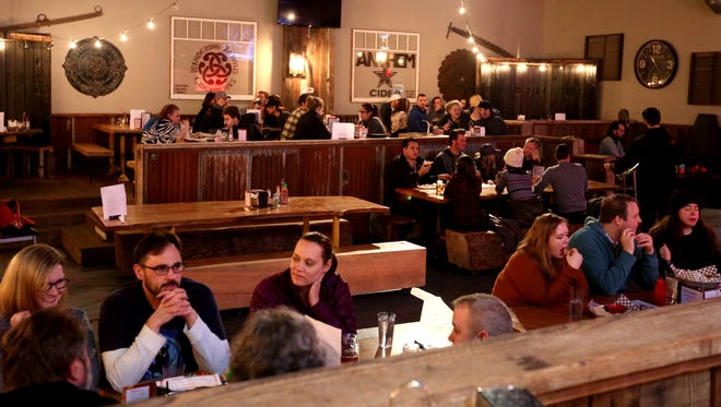 Shotski's Woodfired Pizza hosts Geeks Who Drink on Tuesday nights.