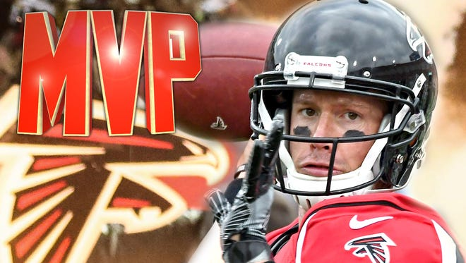 Matt Ryan was named the NFL's MVP for the 2016 season.